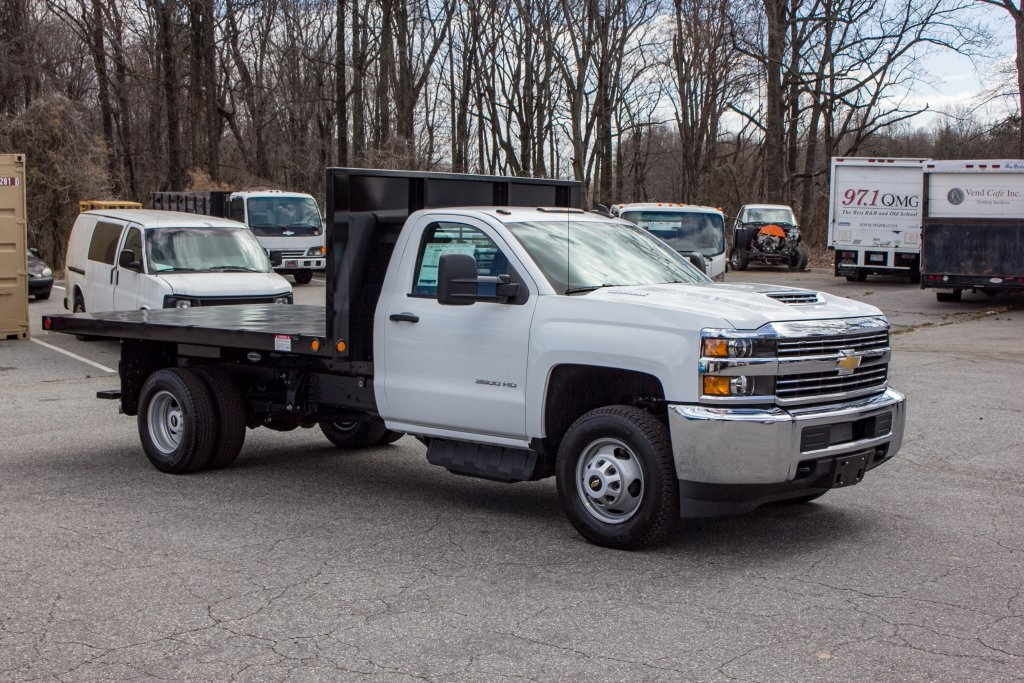 2018 Silverado 3500 Regular Cab DRW 4x2,  Freedom Platform Body #FK3874 - photo 9