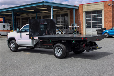 2018 Silverado 3500 Regular Cab DRW 4x2,  Freedom Workhorse Platform Body #FK3874 - photo 2