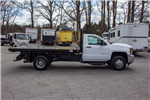 2018 Silverado 3500 Regular Cab DRW 4x2,  Freedom Workhorse Platform Body #FK3874 - photo 8