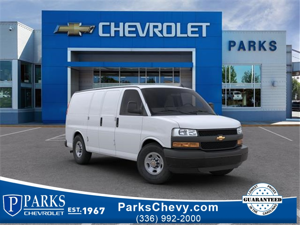 2020 Chevrolet Express 2500 4x2, Masterack Upfitted Cargo Van #FK40356 - photo 1