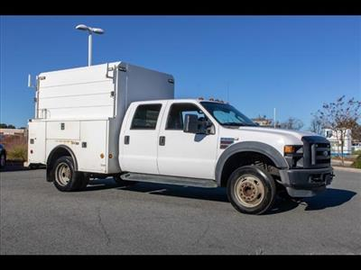 2008 Ford F-550 Crew Cab DRW 4x2, Service Body #FK4227A - photo 10