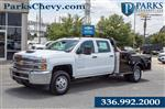 2019 Silverado 3500 Crew Cab DRW 4x4,  CM Truck Beds Platform Body #FK43805 - photo 1