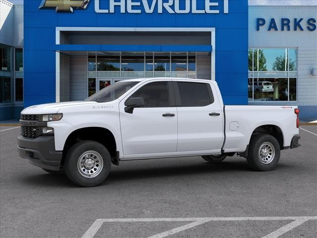2020 Chevrolet Silverado 1500 Crew Cab 4x4, Pickup #FK4682X - photo 3