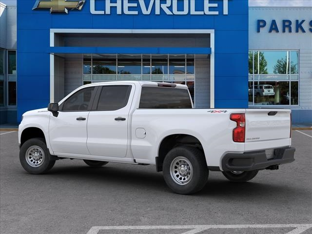 2020 Chevrolet Silverado 1500 Crew Cab 4x4, Pickup #FK4682X - photo 4