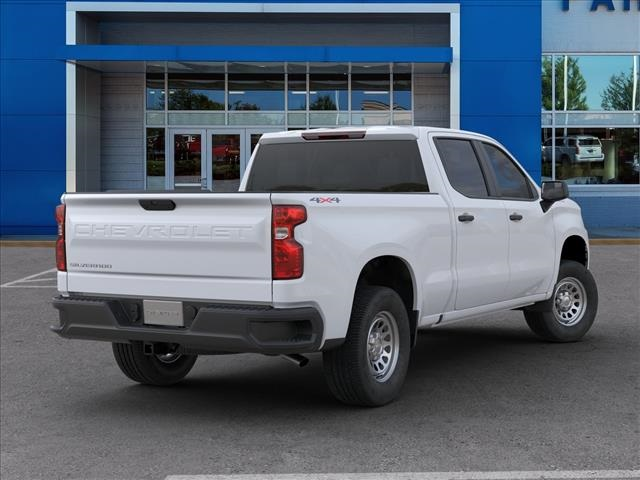 2020 Chevrolet Silverado 1500 Crew Cab 4x4, Pickup #FK4682X - photo 2