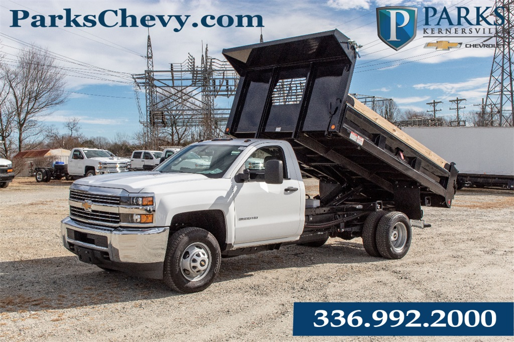 2018 Silverado 3500 Regular Cab DRW 4x2,  Freedom Dump Body #FK4826X - photo 1