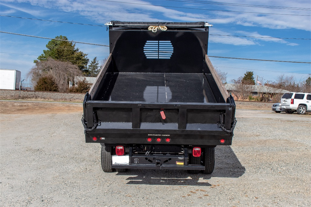 2018 Silverado 3500 Regular Cab DRW 4x2,  Freedom Dump Body #FK4826X - photo 4