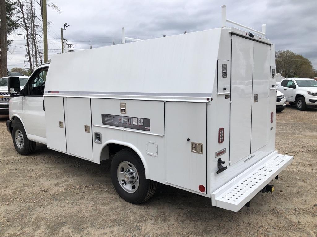 2020 Express 3500 4x2, Reading Service Utility Van #FK49882 - photo 1