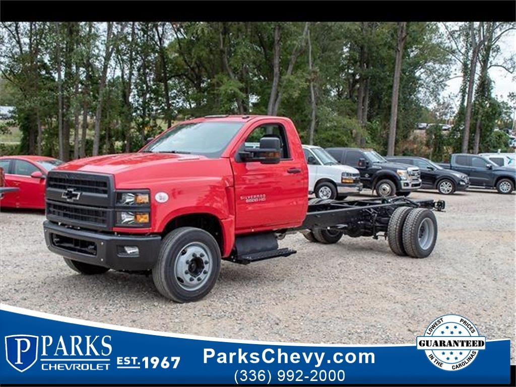 2019 Silverado 6500 Regular Cab DRW 4x2, Cab Chassis #FK51578 - photo 1
