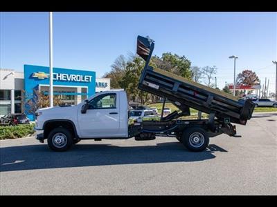 2020 Chevrolet Silverado 3500 Regular Cab DRW 4x4, Freedom Dump Body #FK5231 - photo 4