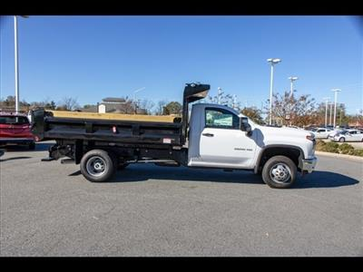 2020 Chevrolet Silverado 3500 Regular Cab DRW 4x4, Freedom Dump Body #FK5231 - photo 9