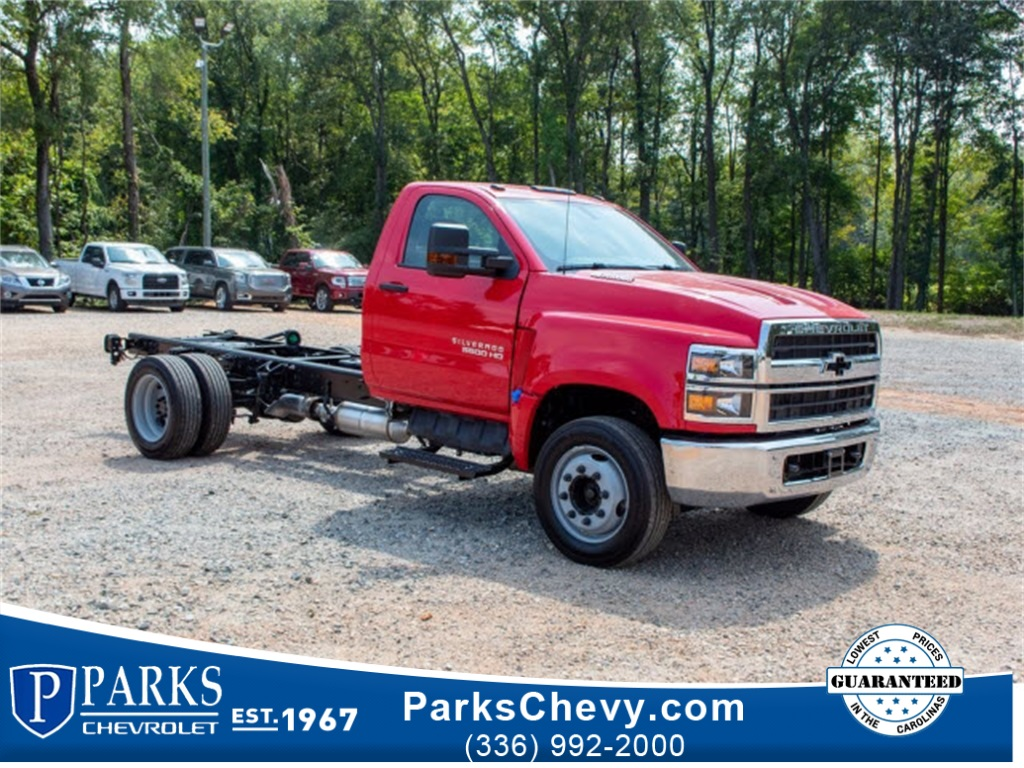 2019 Chevrolet Silverado 5500 Regular Cab DRW 4x2, Cab Chassis #FK5434 - photo 1