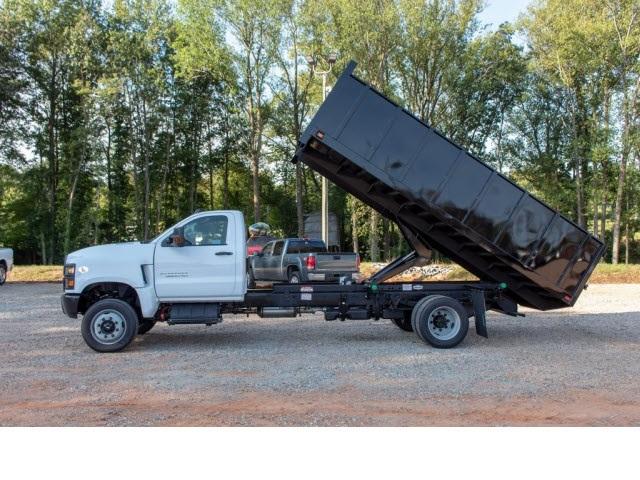 2019 Silverado 5500 Regular Cab DRW 4x4,  Knapheide Value-Master X Landscape Dump #FK5461 - photo 3