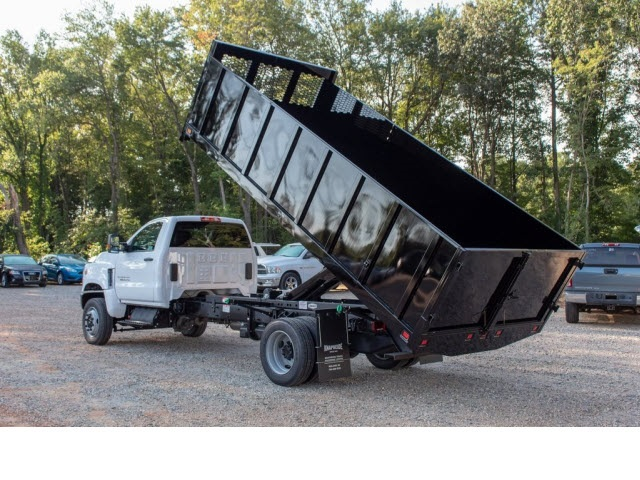 2019 Silverado 5500 Regular Cab DRW 4x4, Knapheide Landscape Dump #FK5461 - photo 1