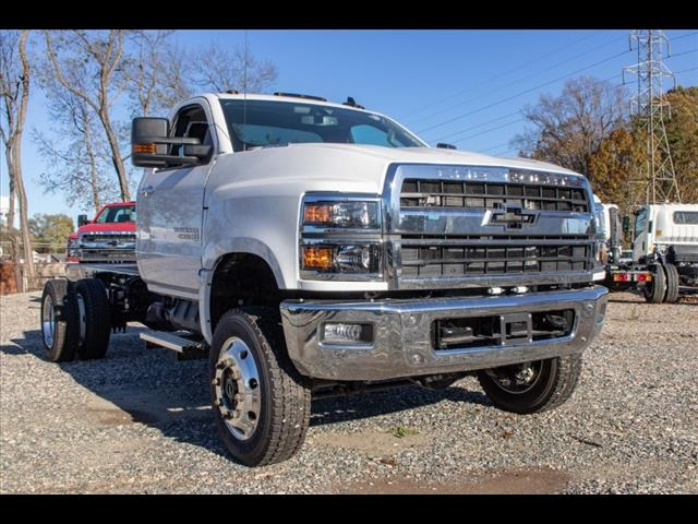 2019 Chevrolet Silverado 4500 Regular Cab DRW 4x4, PJ's Landscape Dump #FK5590 - photo 8