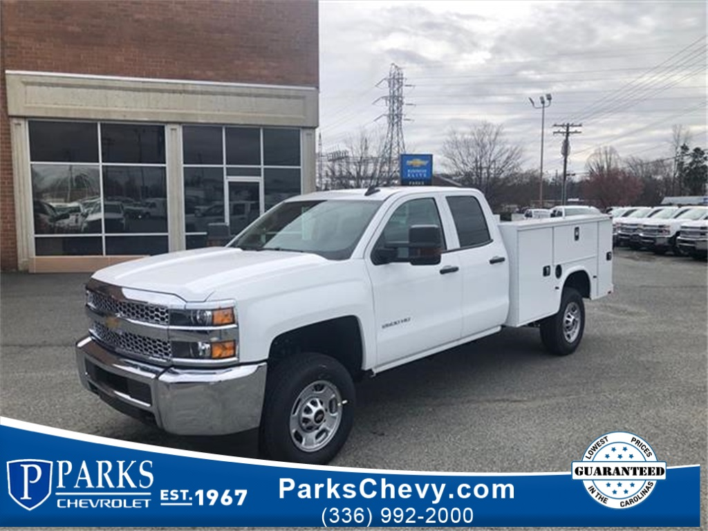 2019 Chevrolet Silverado 2500 Double Cab 4x2, Knapheide Steel Service Body #FK5673 - photo 1