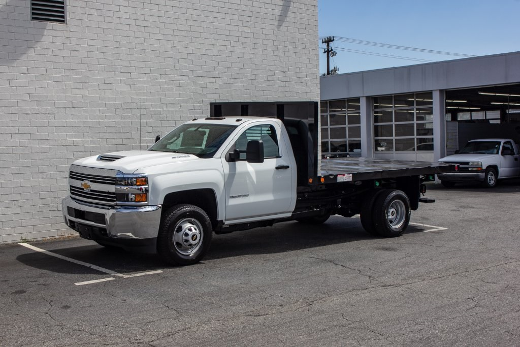2018 Silverado 3500 Regular Cab DRW 4x2,  Freedom Platform Body #FK5706 - photo 1