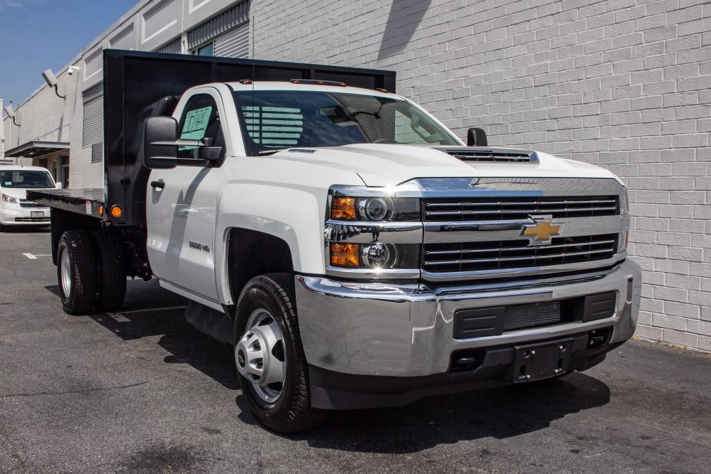 2018 Silverado 3500 Regular Cab DRW 4x2,  Freedom Platform Body #FK5706 - photo 11