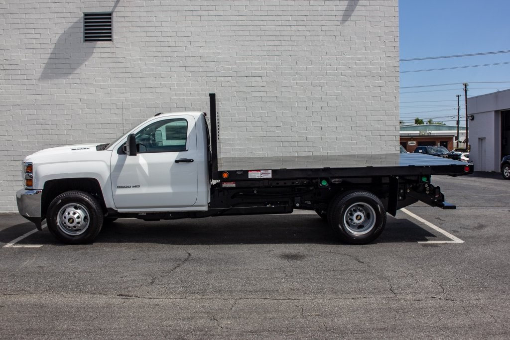 2018 Silverado 3500 Regular Cab DRW 4x2,  Freedom Platform Body #FK5706 - photo 6