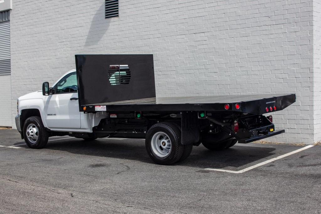 2018 Silverado 3500 Regular Cab DRW 4x2,  Freedom Platform Body #FK5706 - photo 2