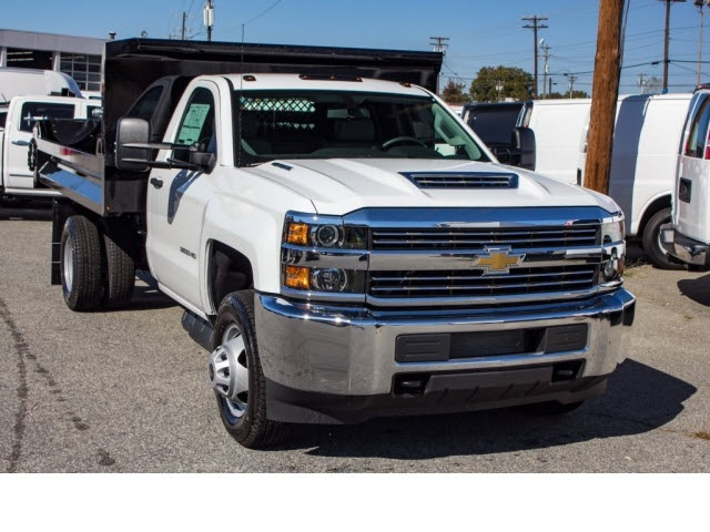 2017 Silverado 3500 Regular Cab DRW 4x2,  Knapheide Dump Body #FK5778 - photo 4