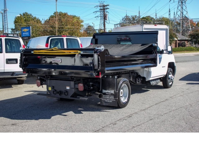 2017 Silverado 3500 Regular Cab DRW 4x2,  Knapheide Dump Body #FK5778 - photo 2