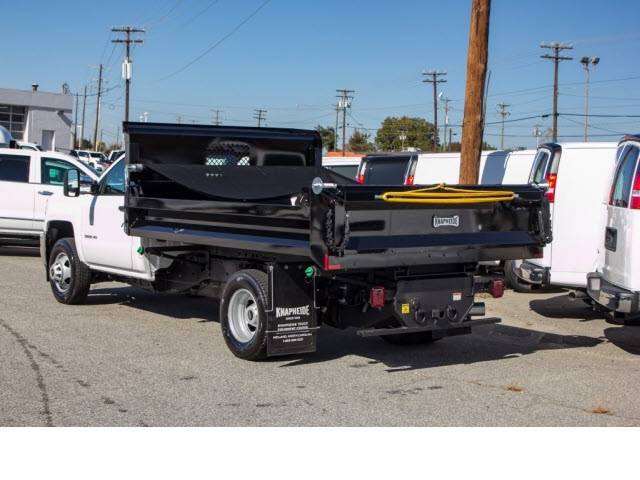 2017 Silverado 3500 Regular Cab DRW 4x2,  Knapheide Rigid Side Dump Body #FK5778 - photo 2