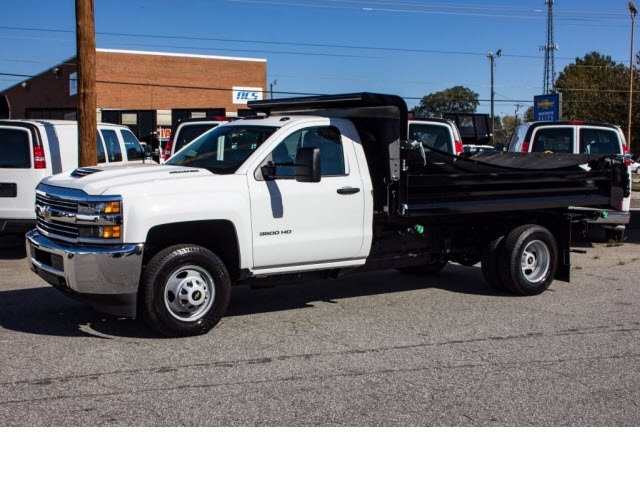 2017 Silverado 3500 Regular Cab DRW 4x2,  Knapheide Dump Body #FK5778 - photo 16