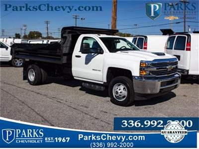 2017 Silverado 3500 Regular Cab DRW 4x2,  Knapheide Rigid Side Dump Body #FK5778 - photo 3
