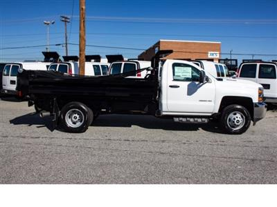 2017 Silverado 3500 Regular Cab DRW 4x2,  Knapheide Rigid Side Dump Body #FK5778 - photo 7