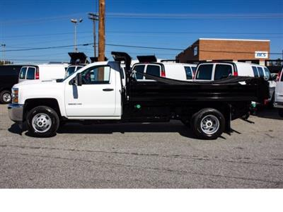 2017 Silverado 3500 Regular Cab DRW 4x2,  Knapheide Rigid Side Dump Body #FK5778 - photo 16