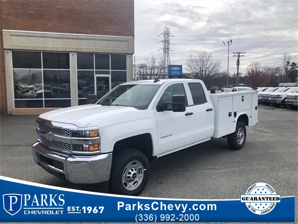 2019 Chevrolet Silverado 2500 Double Cab 4x2, Knapheide Steel Service Body #FK5863 - photo 1