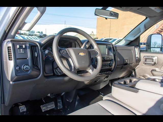 2021 Silverado 5500 Regular Cab DRW 4x2,  PJ's Truck Bodies Landscape Dump #FK5895 - photo 15