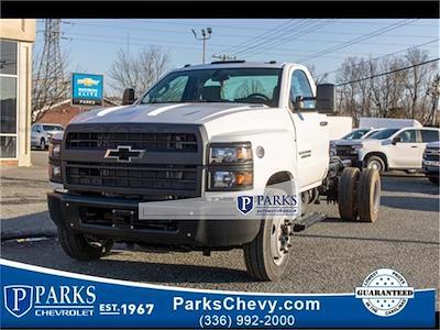 2021 Silverado 5500 Regular Cab DRW 4x2,  PJ's Truck Bodies Landscape Dump #FK5895 - photo 1