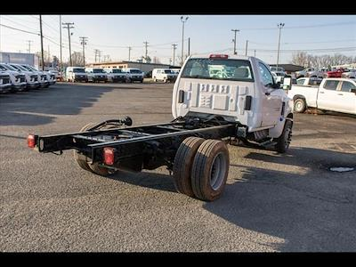 2021 Silverado 5500 Regular Cab DRW 4x2,  PJ's Truck Bodies Landscape Dump #FK5895 - photo 5