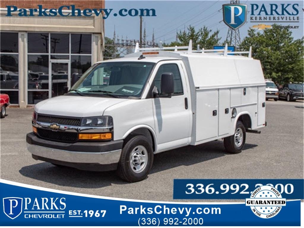 2019 Chevrolet Express 3500 4x2, Knapheide KUV Service Utility Van #FK5986 - photo 1