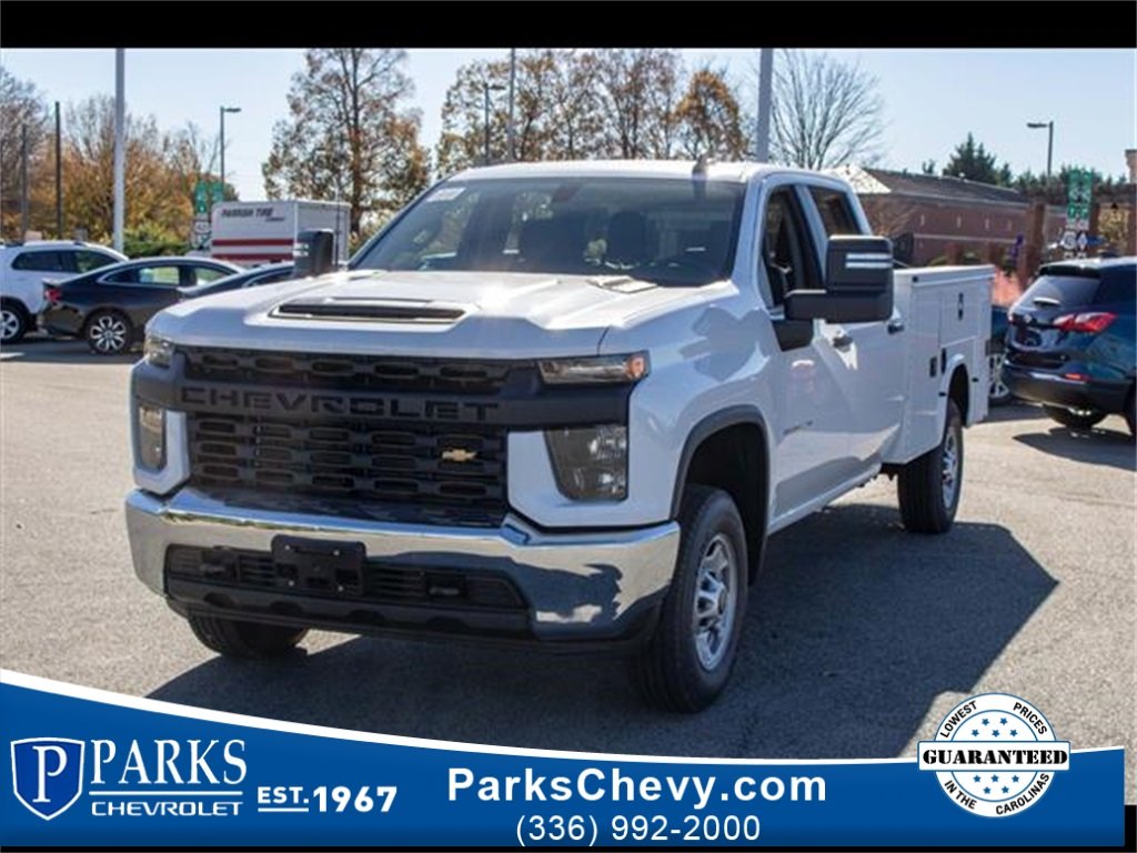 2020 Chevrolet Silverado 2500 Double Cab 4x2, Knapheide Steel Service Body #FK6009 - photo 1