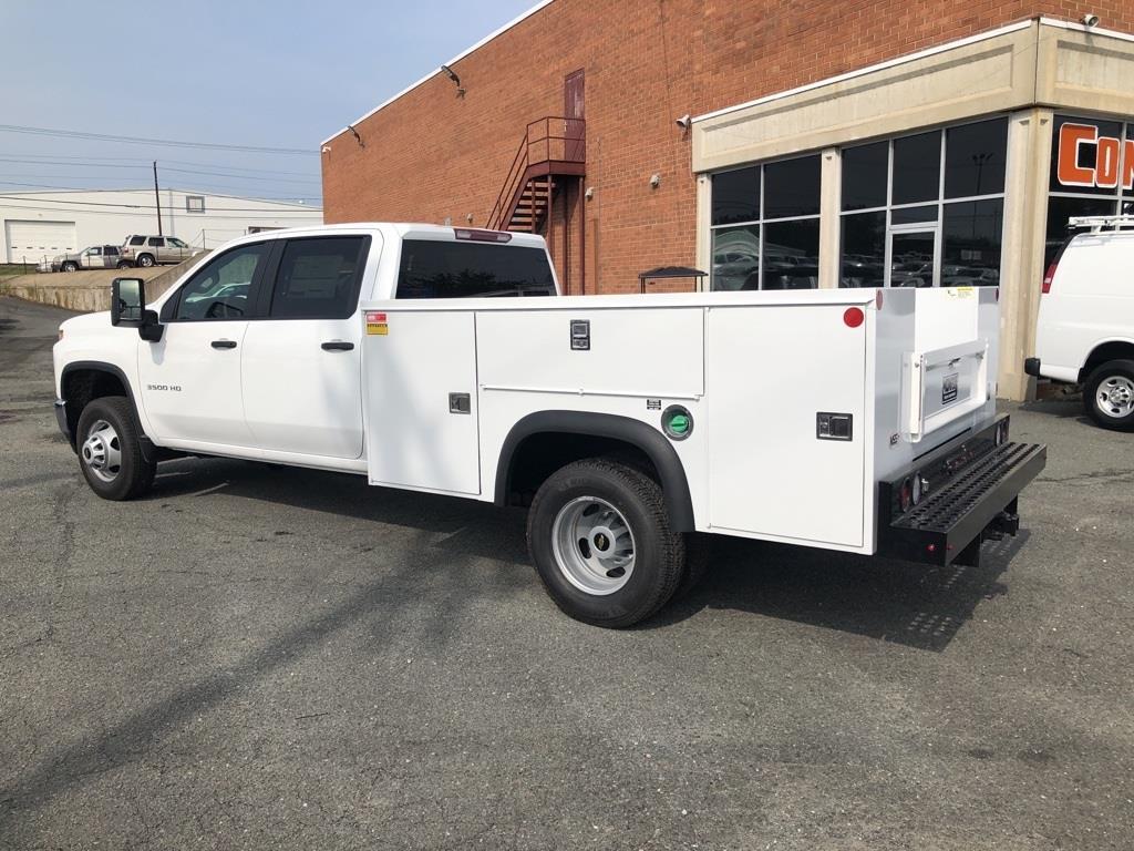 2020 Chevrolet Silverado 3500 Crew Cab DRW 4x4, Monroe MSS II Service Body #FK6051 - photo 2