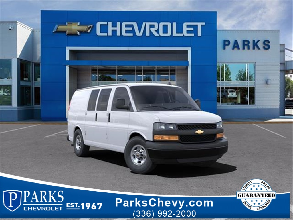 2021 Chevrolet Express 2500 4x2, Empty Cargo Van #FK6119 - photo 1