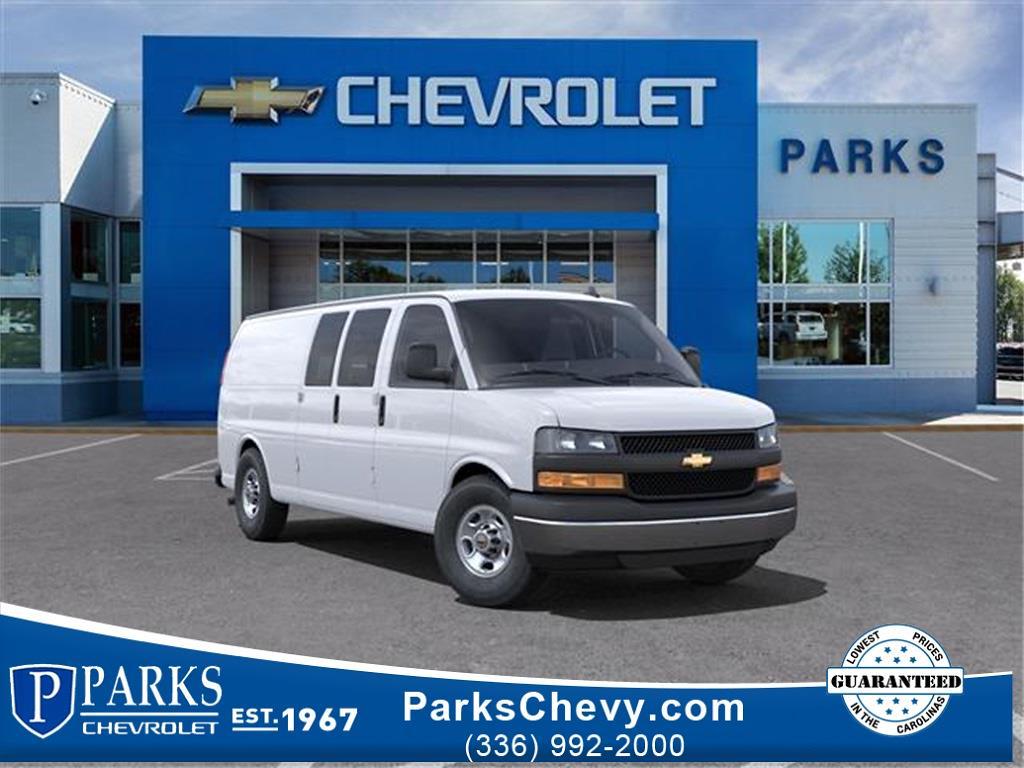 2021 Chevrolet Express 2500 4x2, Knapheide Upfitted Cargo Van #FK62286 - photo 1