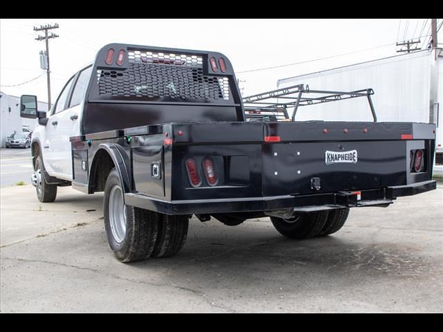 2021 Chevrolet Silverado 3500 Crew Cab 4x4, Knapheide Platform Body #FK6239 - photo 1