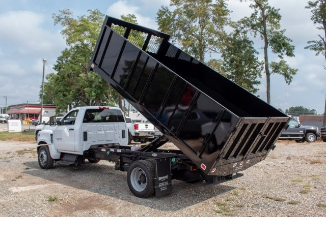 2019 Silverado 5500 Regular Cab DRW 4x2,  Knapheide Landscape Dump #FK62773 - photo 1