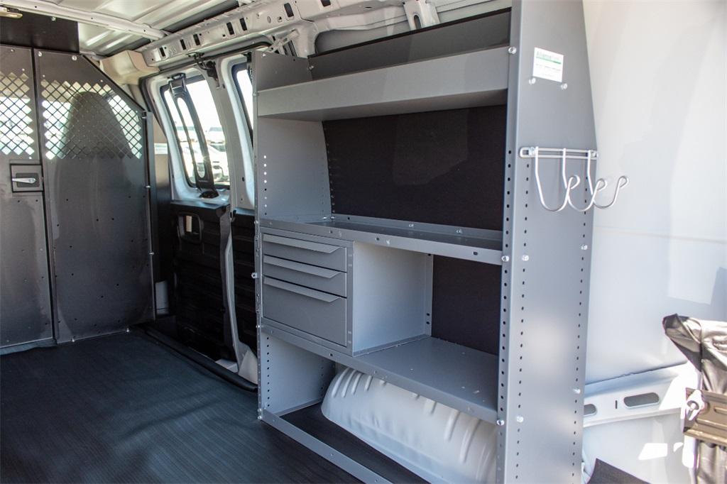 2019 Express 2500 4x2,  Masterack Steel General Service Upfitted Cargo Van #FK6329 - photo 8