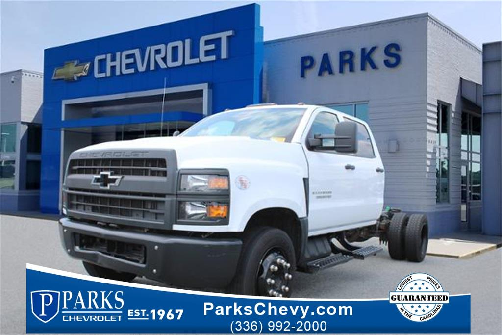 2020 Chevrolet 5500, Cab Chassis