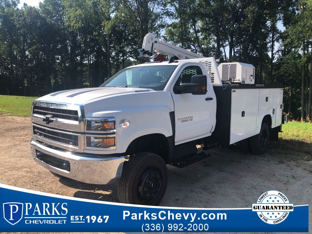 2020 Chevrolet Silverado 5500 Regular Cab DRW 4x4, Knapheide Mechanics Body #FK6474 - photo 1