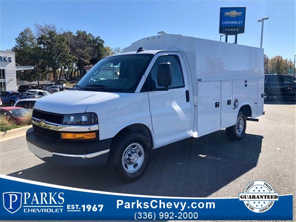 2019 Chevrolet Express 3500 4x2, Knapheide Service Utility Van #FK65399 - photo 1