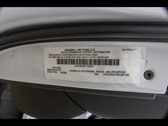 2021 Chevrolet Silverado 5500 Crew Cab DRW 4x4, Cab Chassis #FK67123 - photo 11
