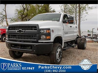 2021 Chevrolet Silverado 5500 Crew Cab DRW 4x4, Cab Chassis #FK67123 - photo 1