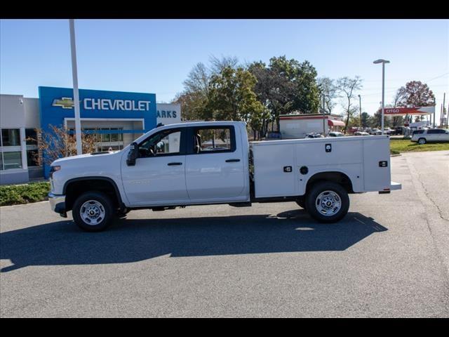 2020 Chevrolet Silverado 2500 Crew Cab 4x4, Knapheide Steel Service Body #FK6767 - photo 4