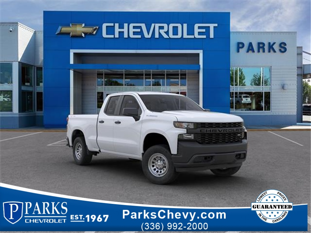 2020 Chevrolet Silverado 1500 Double Cab 4x4, Pickup #FK68040X - photo 1